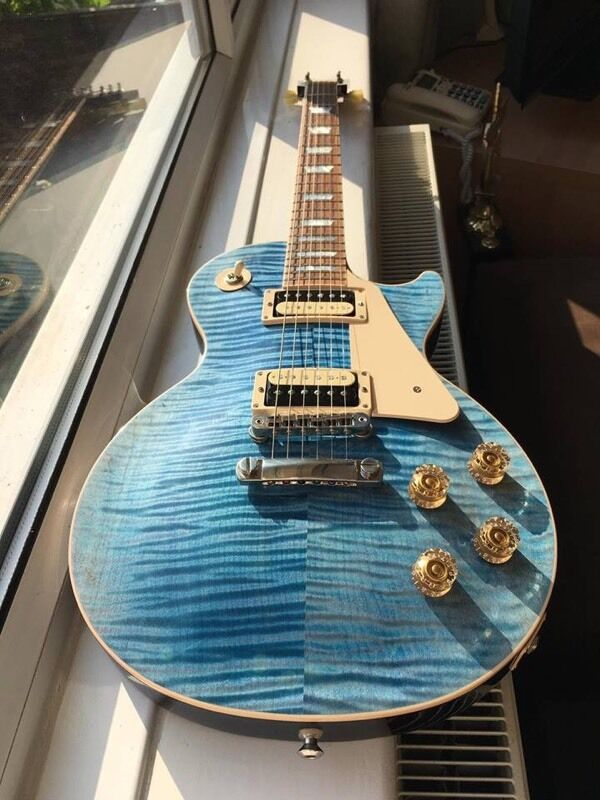 Gibson Les Paul Jimmy page wiring Slash pups | in Bramley, West ...