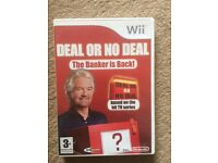 Deal or no deal - wii game