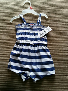 New with tags 6-12 months romper