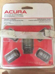 Acura Wheel But Locks