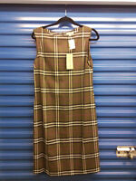 brand new with tags $545 Burberry dress nova check $199