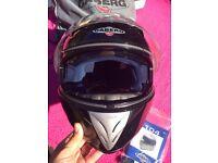 CABERG black Bike helmet