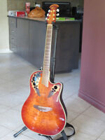 For sale Ovation acoustic electric guitar