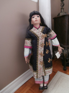 Maelyn  collectable Doll . American Artists Collection.