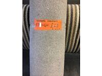 Carpet range 'shepherd heathers' roll end 1.83x4m