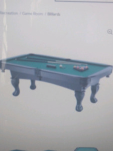 superior ball and claw billiard table