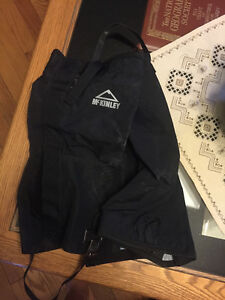Northface Rain Pants and Mckinley Gaiters (Size Medium for both)