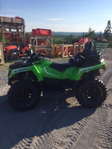 2017 Arctic Cat Alterra with Tracks and Plow