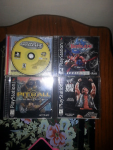PS1 games for sale- $2 and UNDER!