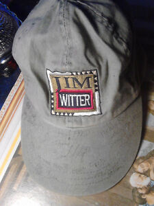 wow signed hat from jim witter..all is done with a pen