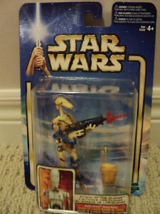 Star Wars Battle Droid Action Figure *NEW IN BOX*