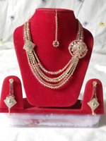 Bollywood style necklase set for sale up to 70 % off