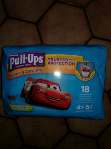 Huggies 4t-5t pull-up diapers unopened