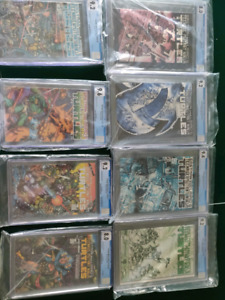 cgc graded comics,TMNT first run, cable, wolvie,Thanos Quest
