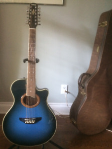 Vintage Yamaha 12 String Acoustic/Electric Guitar APX-9-12