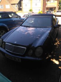 Mercedes CLK 320 spares and repairs, price reduced £375 need quick sale