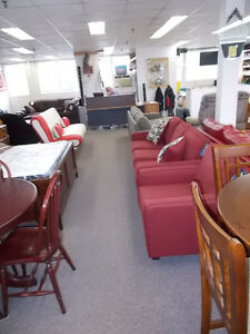 Large selection of NEW sofas, chairs, sectionals. $499 and up.