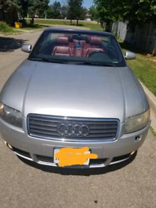 2004 A4 audi cabriolet 3.0