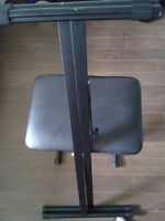 Reliable Keyboard stand and Stool for Sale