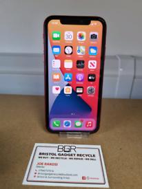 Refurbished Apple iPhone 11 Red 64GB Unlocked + 2-months Warranty