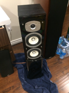 SINCLAIR AUDIO SB-2500T BRIGHTON SERIES TOWER SPEAKERS