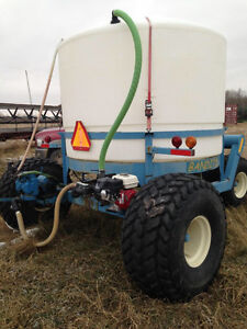 Liquid Fertilizer Cart