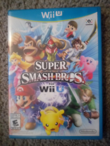 Wii U game - Super Smash Bros.