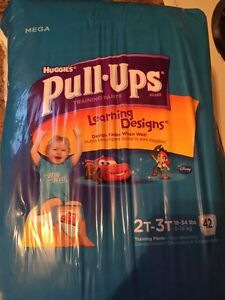 Pull-ups 2T-3T 42 pack