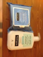 Cleanser and cleansing wipes