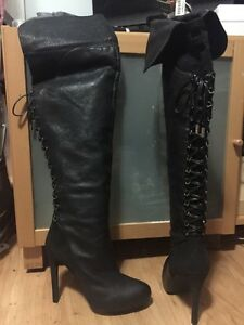 Jessica Simpson size 10 ladies boots thigh high