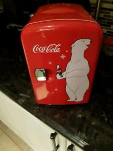 Coke coca mini fridge
