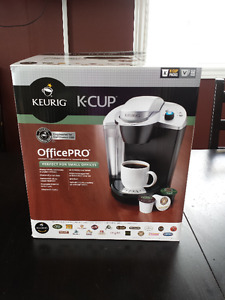 Keurig Office Pro Coffee Maker with Pods - Brand NEW in Box