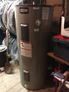 Hot water tank electric 60 gallon