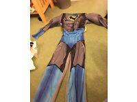 Child's batman costume aged 9-10 years £3