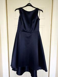 "Ladies ""midnight blue"" dress (Alfred Sung)"
