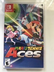 Mario Tennis Aces for Nintendo Switch - Brand New Sealed