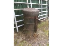 Concrete barrel tractor weight , three point linkage, suit Loader tractor