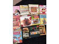 12 cook books