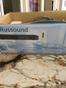 Russound 4 component system brand new