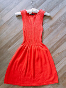 American Apparel Coral Sleeveless Dress - Worn twice