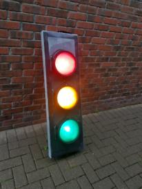 Authentic UK Traffic Lights (Rewired)