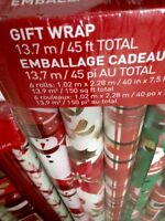 Brand new gift wrapping