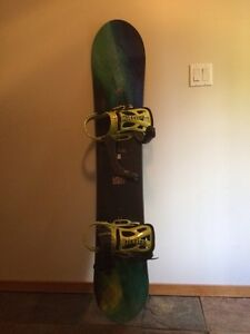 Burton Landlord 159 Snowboard with Bindings