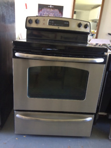 GE Self Cleaning Stove Stainless Steel