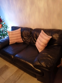 4+3 seater sofa with foot stool