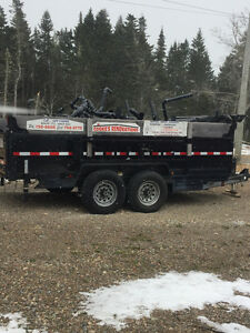 14' Dump Trailer for Rent