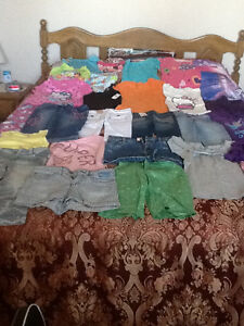 Girls Size 7,8 Spring & Summer Clothing Retails $250