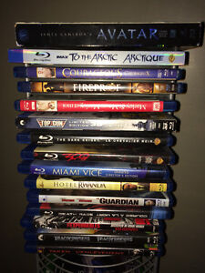 Assorted Blurays For Sale