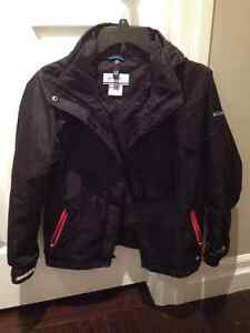 Columbia Bugaboo Interchange Winter Jacket girls Size 10-12 Kitchener / Waterloo Kitchener Area image 2
