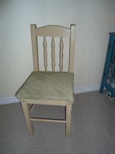 One Lonely Chair Looking for a Good Home - Rustic Chic